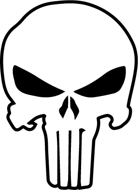 Punisher logo clipart image library stock Punisher Logo Vector – Item 5 Magz Free Download | Crafts ... image library stock