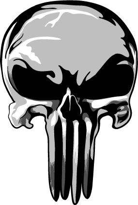 Punisher logo clipart svg library Collection of Punisher skull clipart | Free download best ... svg library