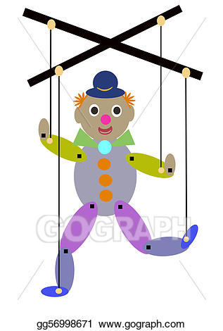Puppet logo clipart png freeuse stock Stock Illustration - puppet. Clipart gg56998671 - GoGraph png freeuse stock