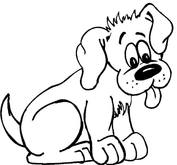 Puppy clipart 1 color royalty free download 17 Best images about Puppy's and dogs on Pinterest | Coloring ... royalty free download