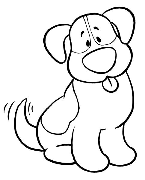 Puppy clipart 1 color clip art free library Puppy Clipart Black And White & Puppy Black And White Clip Art ... clip art free library