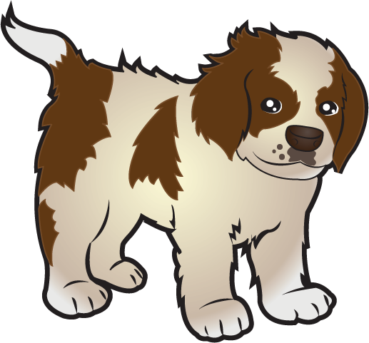 Puppy clipart 1 color image black and white download Puppy clipart 1 color - ClipartFest image black and white download