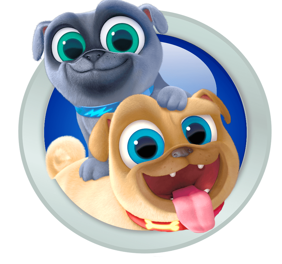 Puppy dog pals clipart vector royalty free library Puppy Dog Pals Emblem transparent PNG - StickPNG vector royalty free library
