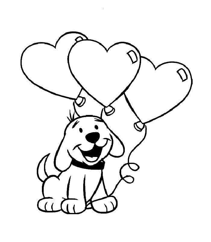 Puppy love clifford clipart black and white jpg stock Free Black And White Puppy Pictures, Download Free Clip Art ... jpg stock