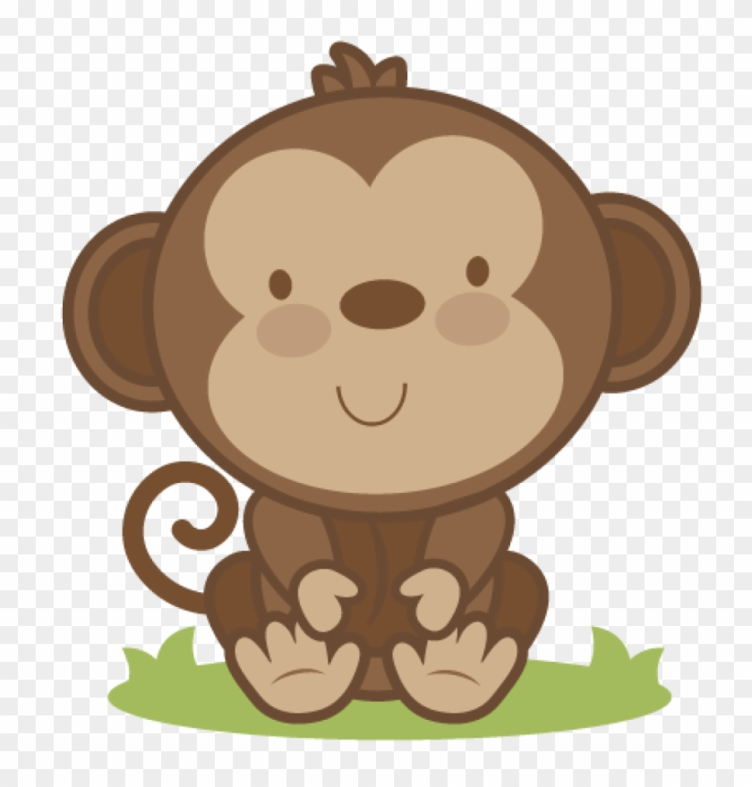 Puppy monkey baby clipart image download Baby Monkey Clip Art Ba Monkey Svg Cutting File Monkey ... image download