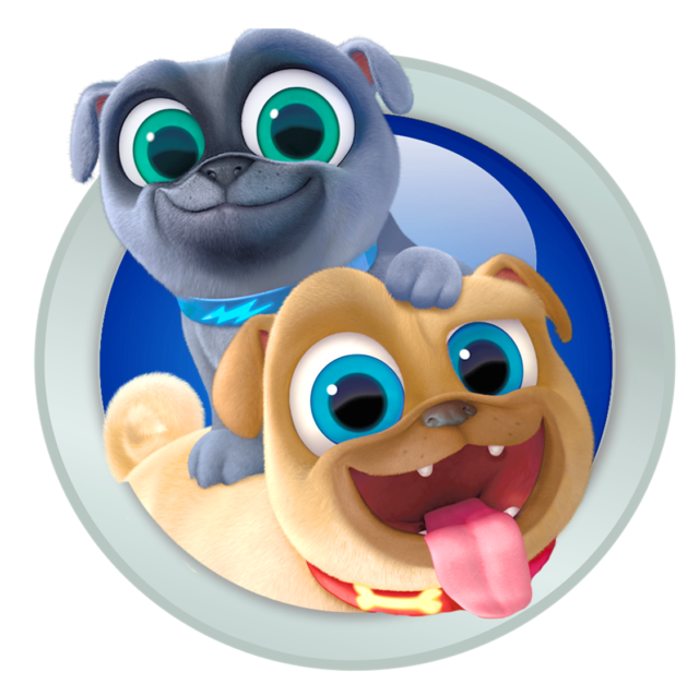 Puppy pals clipart graphic stock Puppy Dog Pals Bingo and Rolly Iron on Transfer 5\