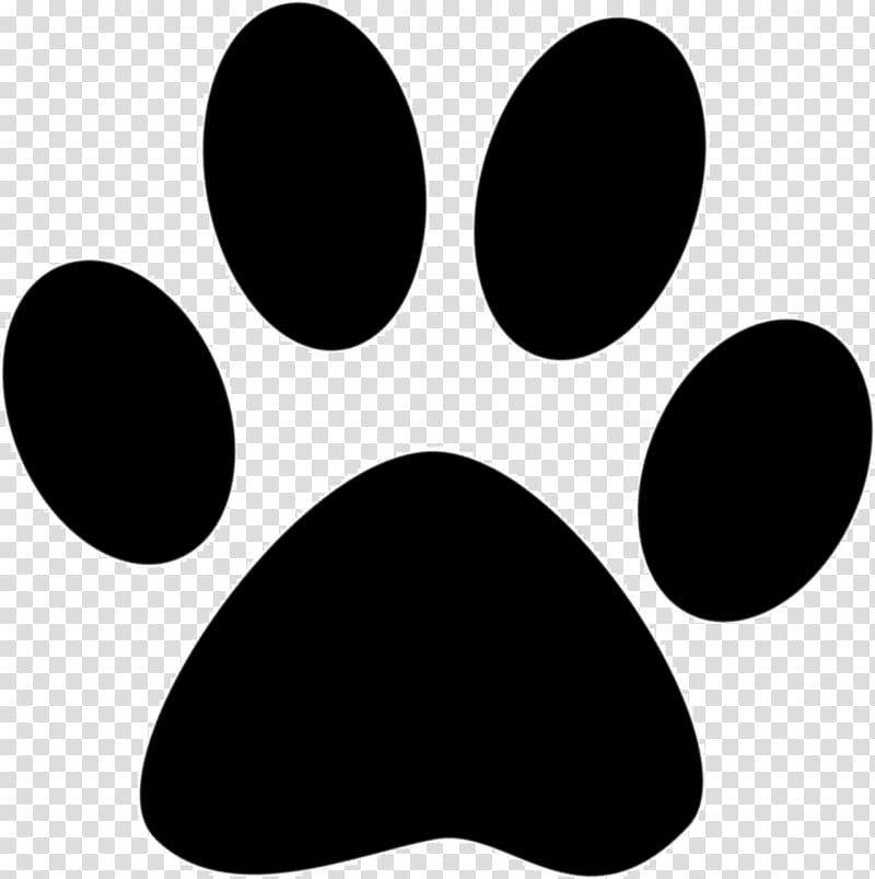 Puppy paws clipart clip art black and white library Cat Dog Puppy Paw , paw prints transparent background PNG ... clip art black and white library