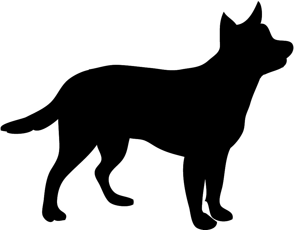 Puppy silhouette clipart graphic Dog Silhouette graphic