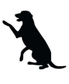 Puppy silhouette clipart png transparent library 52 Best Dog silhouette images in 2014 | Dog silhouette, Dogs ... png transparent library