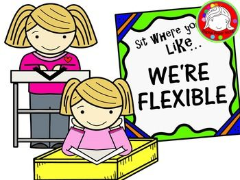 Purchase clipart for commercial use picture library library Flexible Seating Clipart (Personal & Commercial Use) | Commercial picture library library