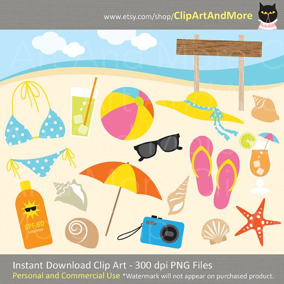 Purchase clipart for commercial use png freeuse download 1000+ images about Beach - Clip Art on Pinterest | Bunting banner ... png freeuse download