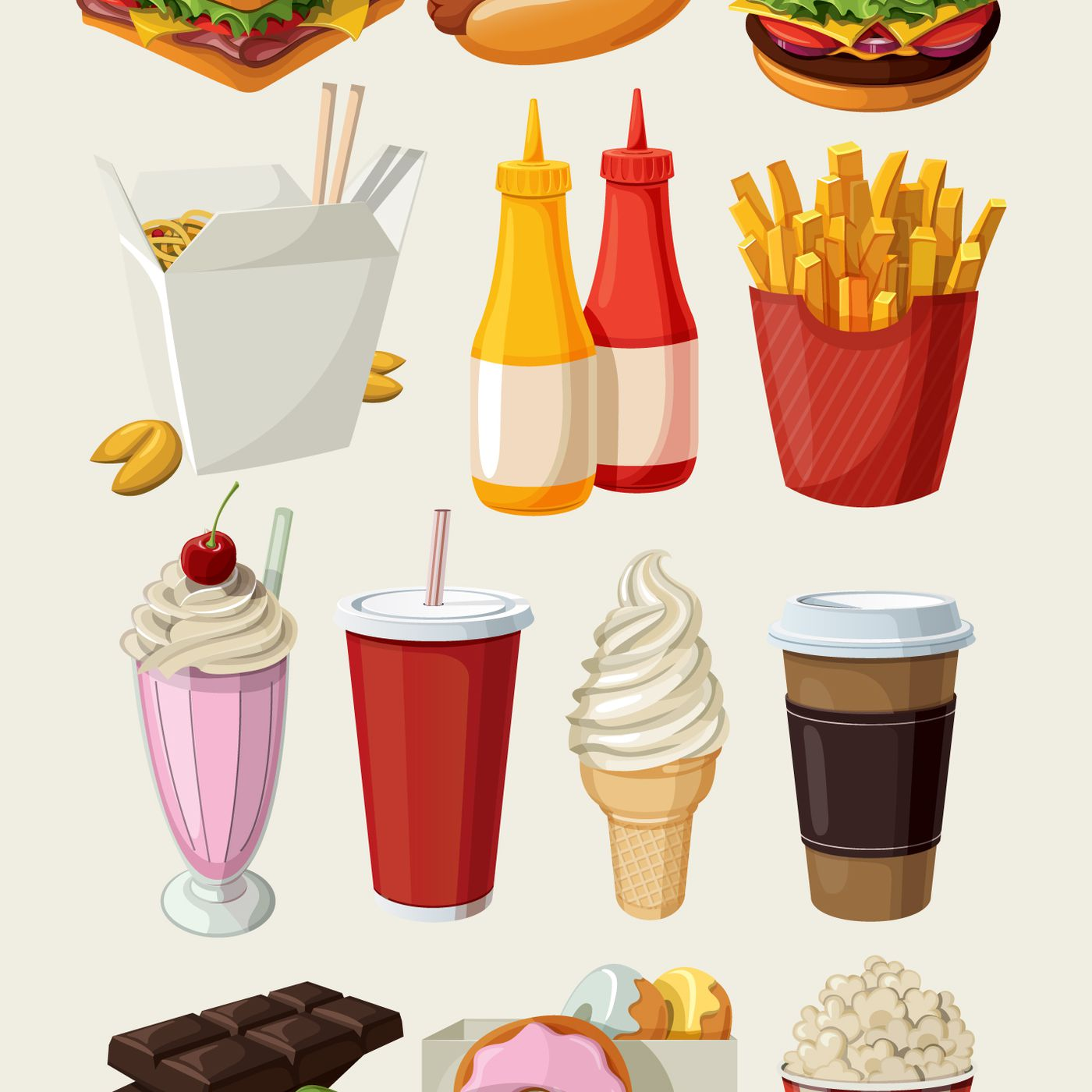 Purchase food in the market clipart image free download Mexico and Hungary tried junk food taxes — and they seem to ... image free download