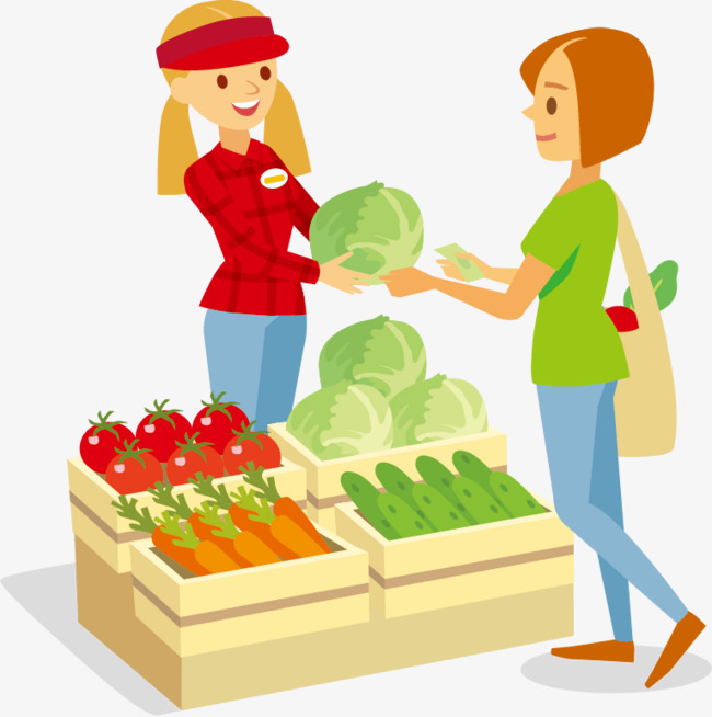 Purchase food in the market clipart clip art free library People Purchase Food In The Market Clipart - 203*300 - Free ... clip art free library
