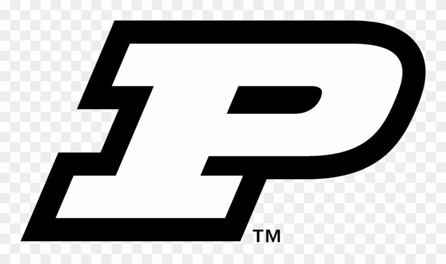 Purdue university northwest clipart black and white clip art free download Purdue University Boilermakers Logo Png Transparent Clipart ... clip art free download