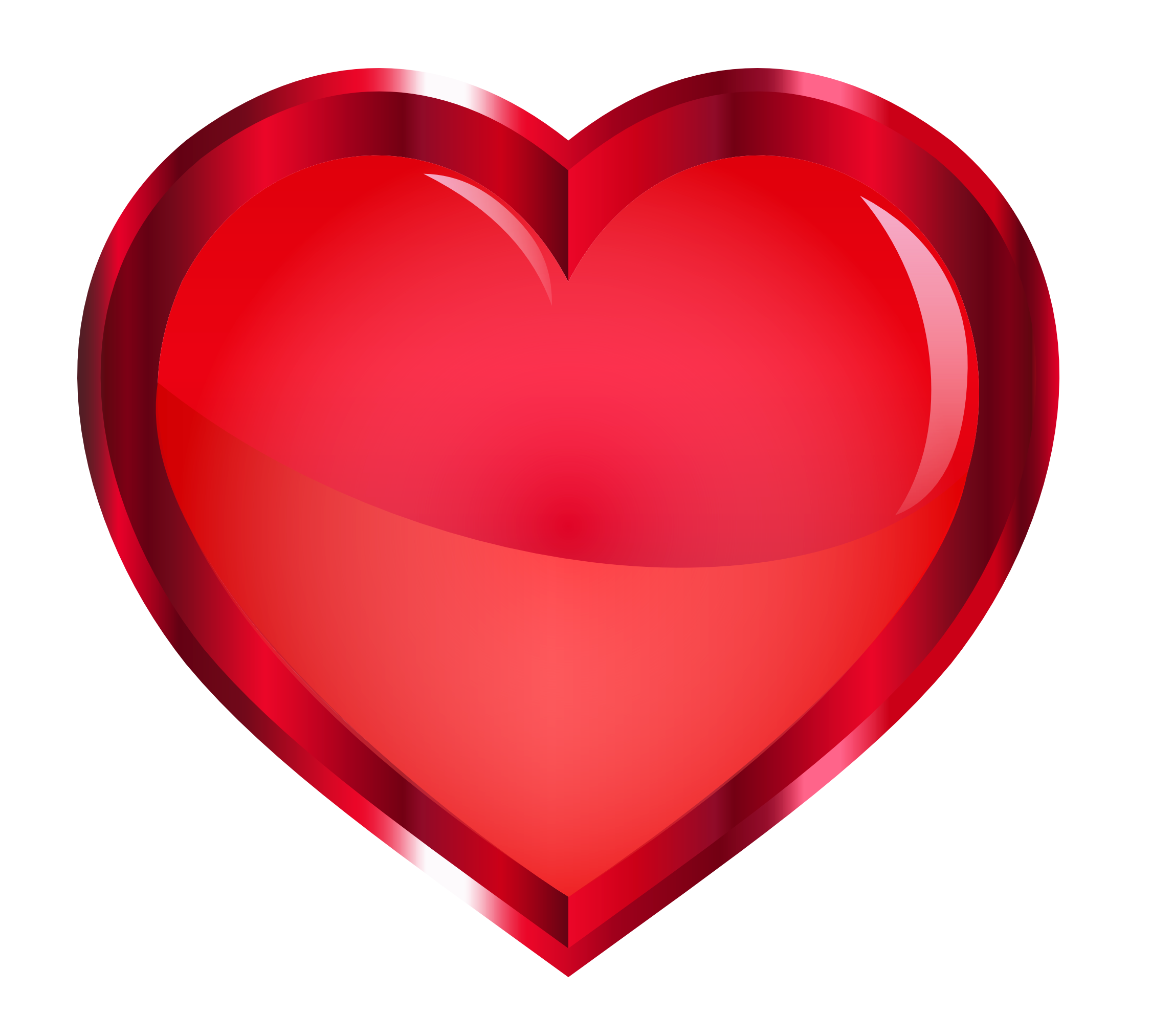 Pure heart clipart graphic free stock Red Heart PNG Image - PurePNG | Free transparent CC0 PNG Image Library graphic free stock