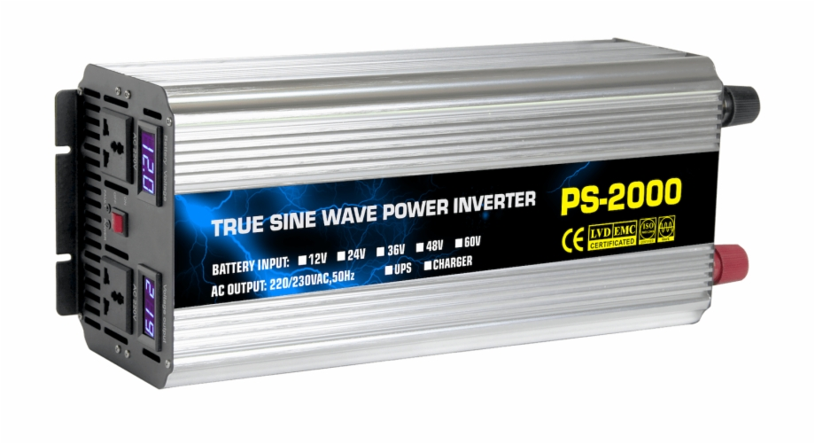 Pure sine wave clipart picture free library Pure Sine Wave Inverter 2000w - Power Inverter Free PNG ... picture free library