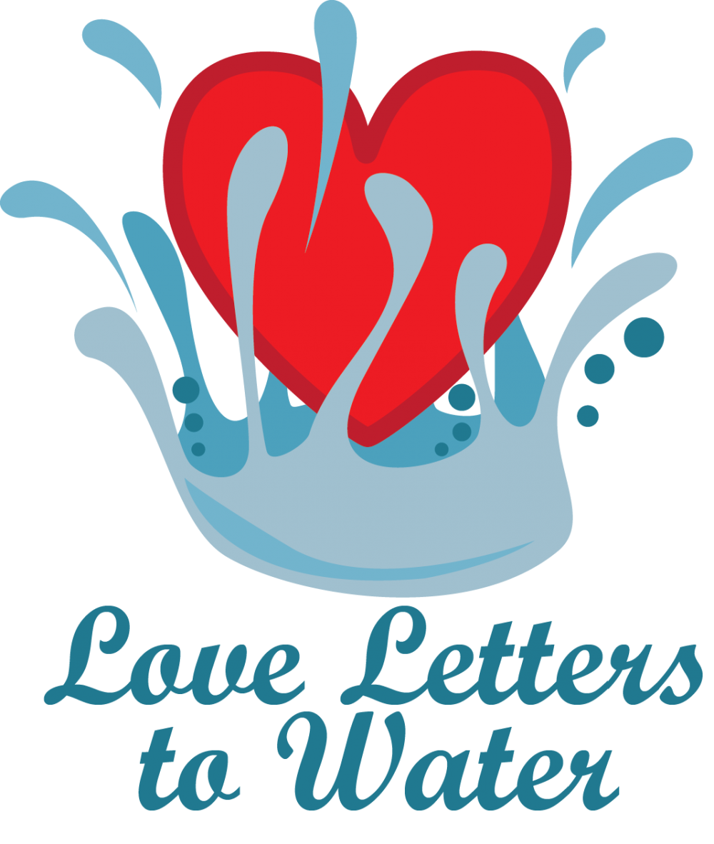 Pure water pure love clipart vector transparent stock Love Letters to Water   Willamette Partnership vector transparent stock