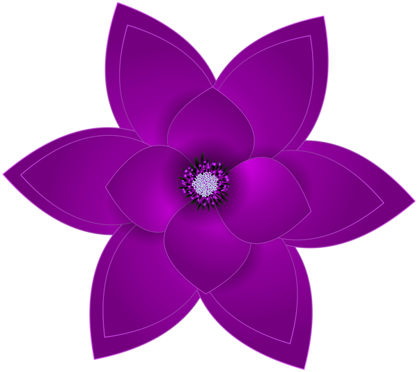 Purple and silver snowflake flower clipart jpg library download Gallery - Free Clipart Pictures jpg library download