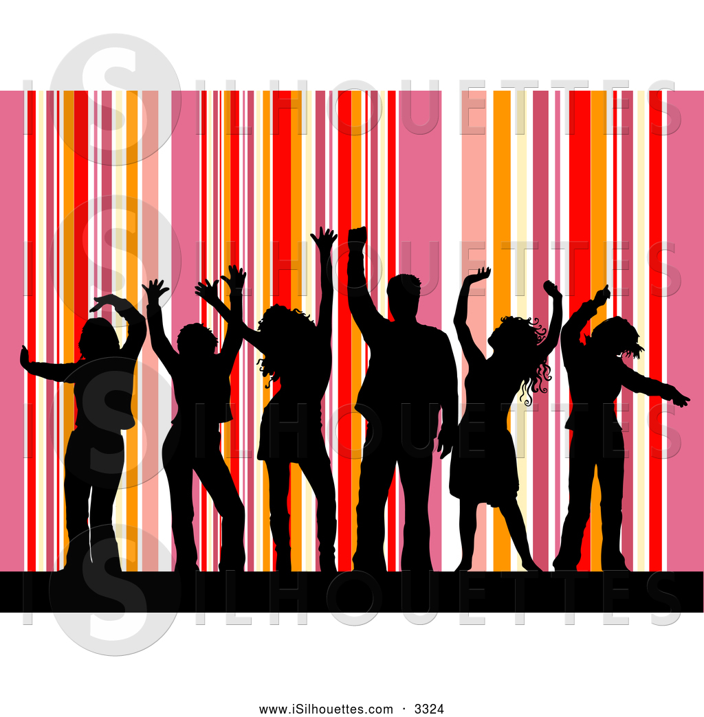 Purple and white stripes vertical clipart free vector transparent download Royalty Free Dancer Stock Silhouette Designs - Page 3 vector transparent download