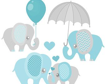 Purple baby elephant clipart graphic library library Boy Baby Elephant Clip Art Digital clipart by PeachAndMint ... graphic library library