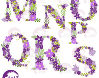 Purple baby girl alphabet clipart picture freeuse stock Baby Clipart Stork Clipart Baby Girl Shower by AMBillustrations picture freeuse stock
