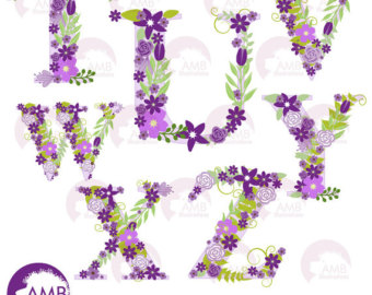 Purple baby girl alphabet clipart picture library library Baby Clipart Stork Clipart Baby Girl Shower by AMBillustrations picture library library
