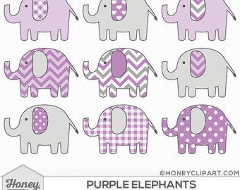Purple baby girl alphabet clipart clip library library Purple girl clipart – Etsy clip library library