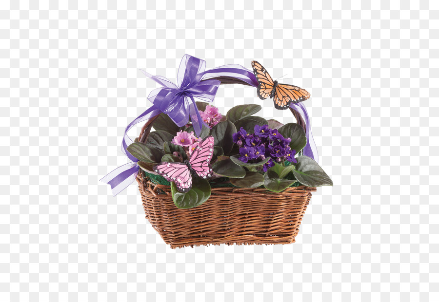 Purple bike with basket and flowers clipart banner royalty free download Flowers Clipart Background png download - 500*611 - Free ... banner royalty free download