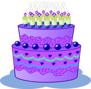 Purple birthday cake clipart jpg royalty free Purple birthday cake clipart - ClipartFest jpg royalty free