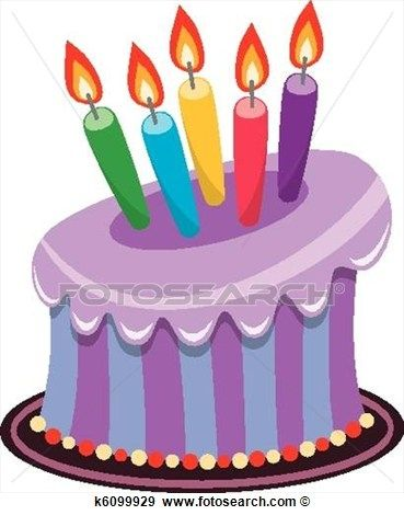 Purple birthday cake clipart image black and white library 17 Best images about Cake on Pinterest | 50th birthday cakes ... image black and white library