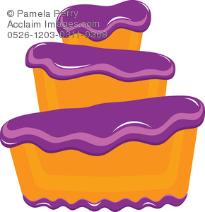 Purple birthday cake clipart svg Purple Cake Clipart - Clipart Kid svg