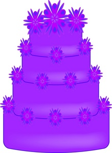Purple birthday cake clipart png free stock Purple birthday cake clipart - ClipartFest png free stock