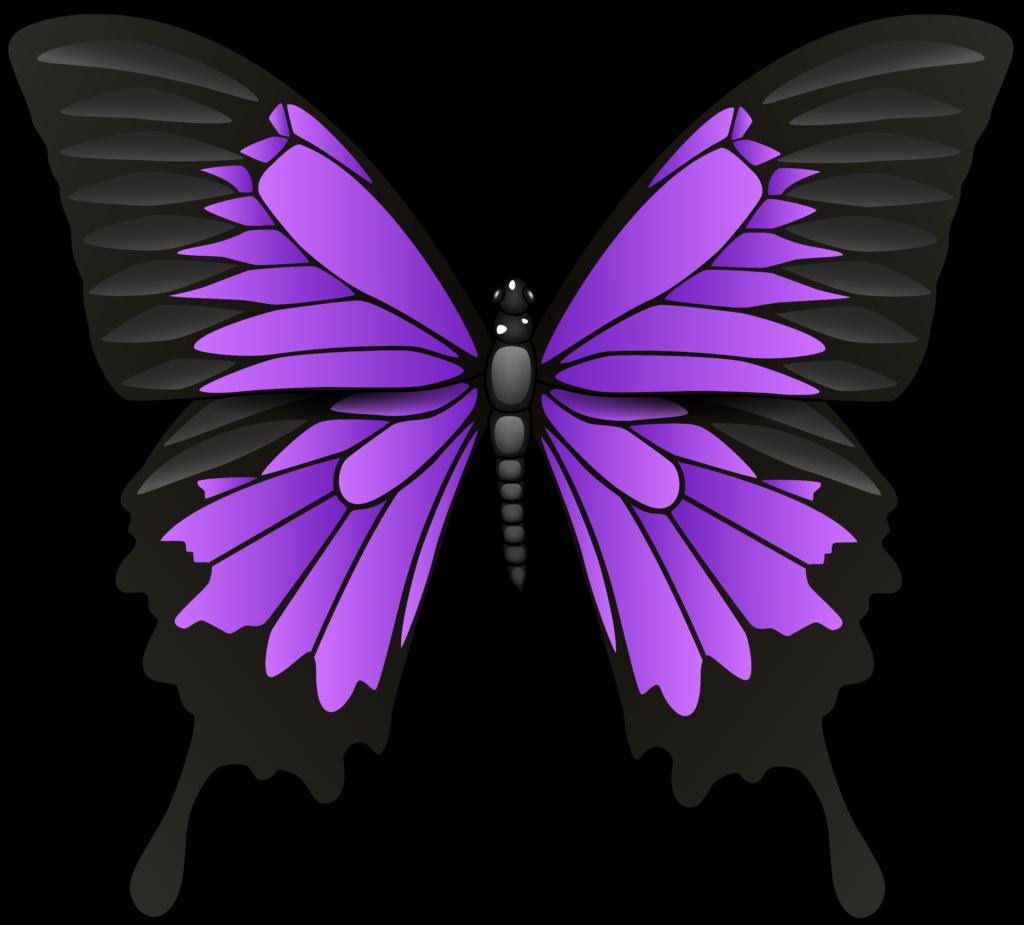 Purple cat clipart clip art free Purple Butterfly PNG Clip Art 2280 Queen Clipart | errortape.me clip art free