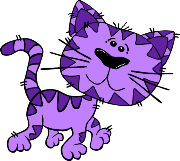 Purple cat clipart cute clip free library Free Purple Cat Cliparts, Download Free Clip Art, Free Clip Art on ... clip free library