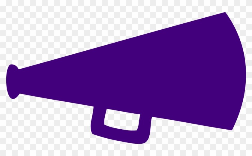 Purple cheerleader clipart clip royalty free library Clipart cheer megaphone 4 » Clipart Portal clip royalty free library