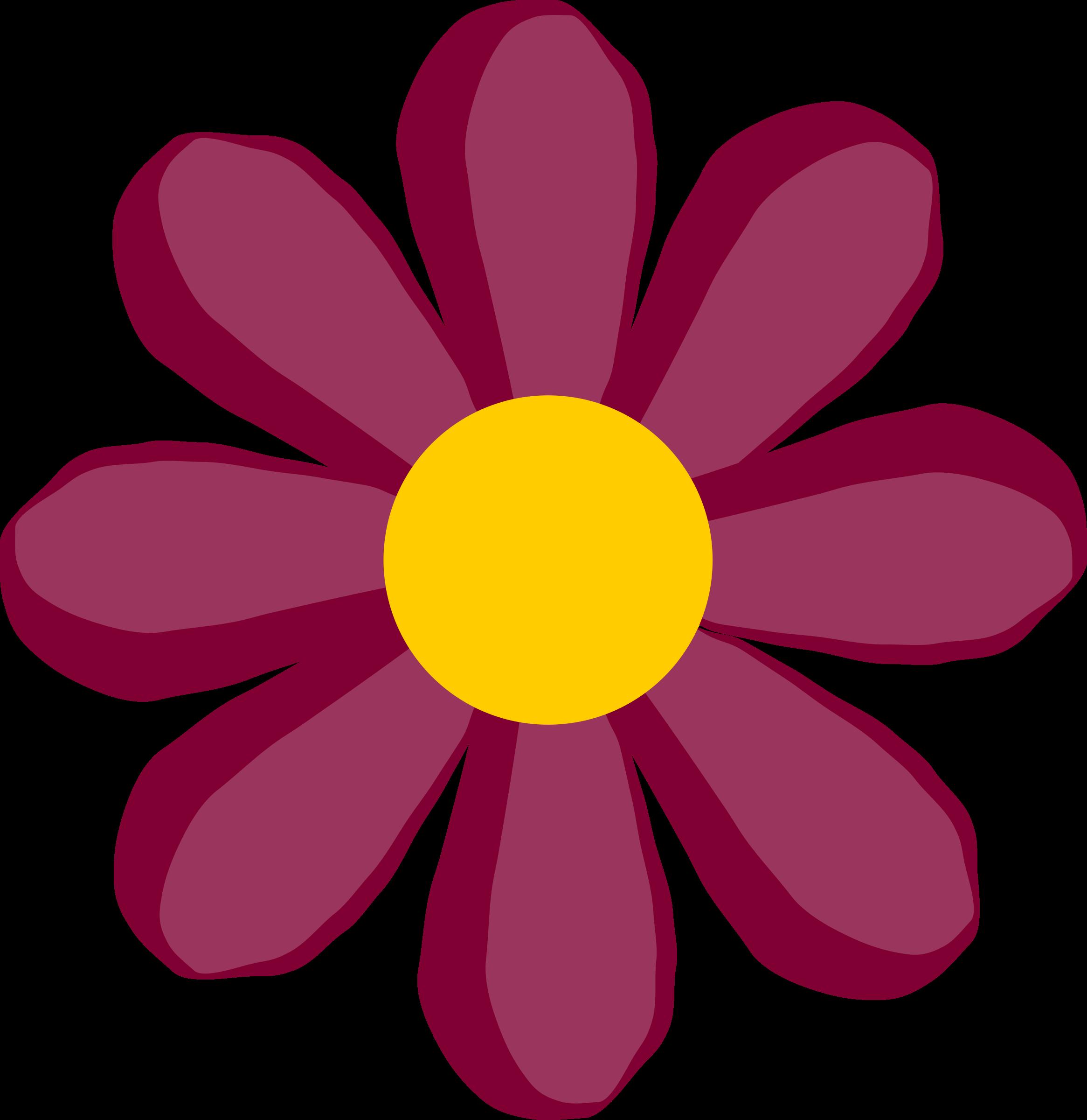 Purple clipart flower vector transparent stock Clipart - purple flower vector transparent stock