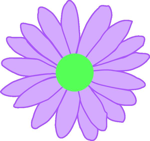 Purple daisy flower clipart clip art transparent Purple Outline Daisy Clip Art at Clker.com - vector clip art online ... clip art transparent