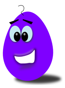 Purple easter egg clipart royalty free download Purple Comic Egg Clip Art at Clker.com - vector clip art online ... royalty free download