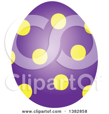 Purple easter egg clipart banner black and white stock Royalty Free Egg Illustrations by visekart Page 1 banner black and white stock