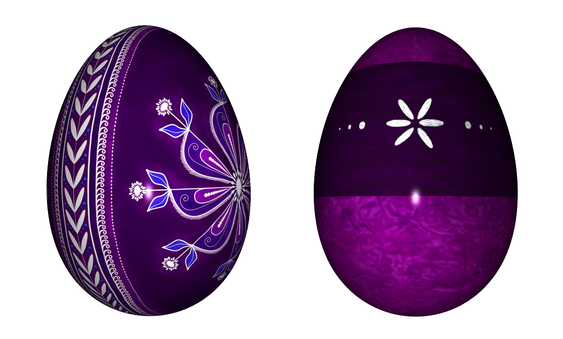 Purple easter egg clipart clipart black and white stock Easter Purple Eggs PNG Clipart clipart black and white stock