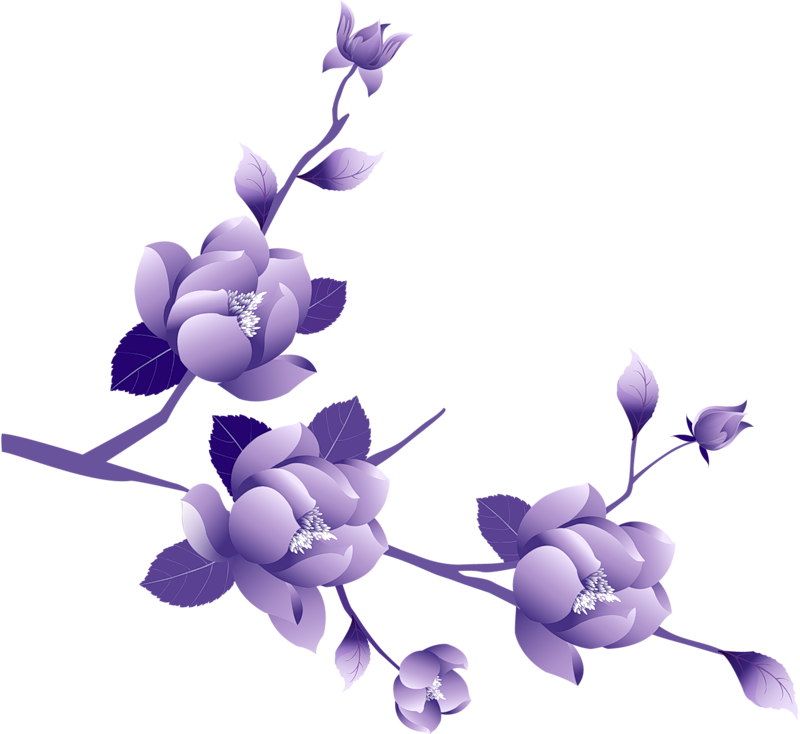 Purple flower border clipart black and white download Flower Border Clipart at GetDrawings.com | Free for personal use ... black and white download