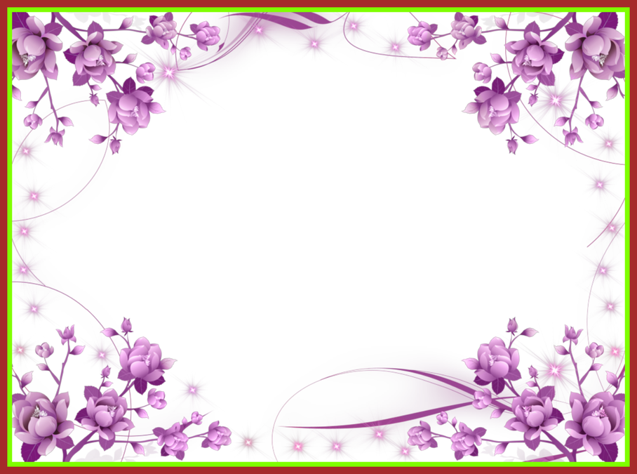 Purple flower bouquet clipart picture royalty free stock Best Purple Flower Frame And Sparkly Stars Picture For Bouquet ... picture royalty free stock