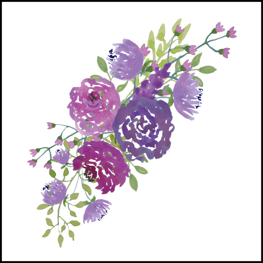 Wedding flower bouquet clipart graphic stock Appealing Prettythingsforyou Purple Pics Of Wedding Bouquet Clipart ... graphic stock