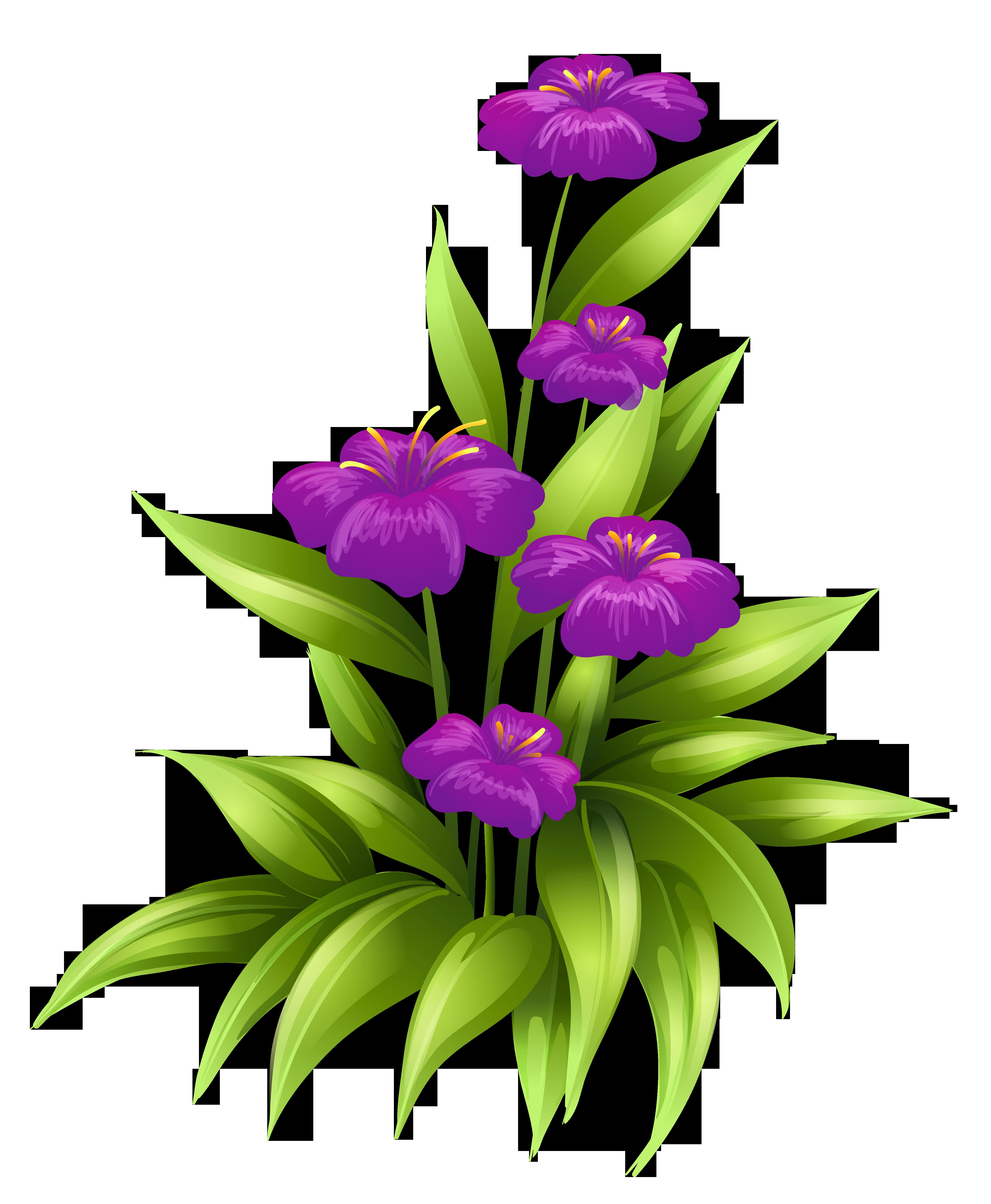 Purple flower vine clipart jpg black and white Transparent Purple Flowers PNG Clipart Picture | flowers | Pinterest ... jpg black and white