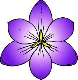 Purple flowers clip art svg stock Purple Flowers Clipart & Purple Flowers Clip Art Images ... svg stock