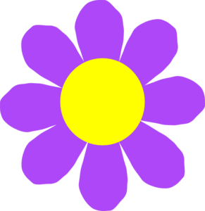 Purple flowers clip art clip Purple flower clip art - ClipartFest clip