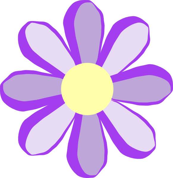 Flower images clipart free svg download Purple Flower Clipart - Clipart Kid svg download