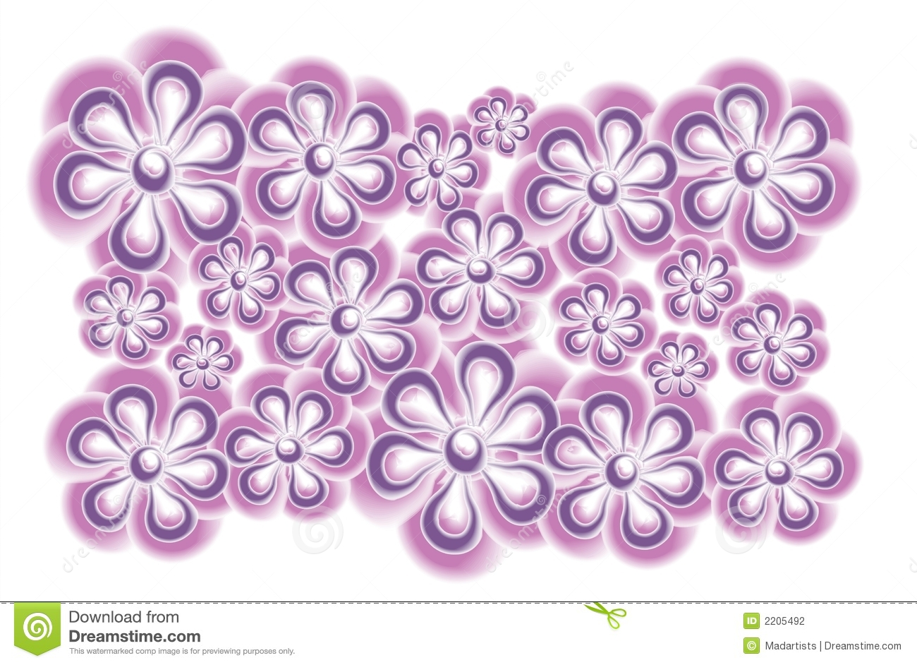 Purple flowers clip art vector freeuse download Purple Flowers Clip Art Stock Image - Image: 6167891 vector freeuse download