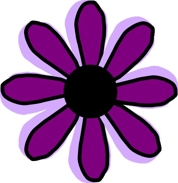 Purple flower images clipart banner transparent stock Pink And Purple Flower Clipart - Clipart Kid banner transparent stock