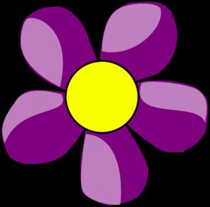 Purple flowers clip art clip art transparent download Purple flower clip art - ClipartFest clip art transparent download